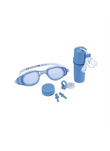 Bestway Bestway 26002 Koruyucu Kaplı Gözlük Seti Mavi
